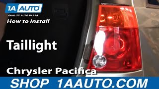 How To Install Replace Taillight Chrysler Pacifica 04-08 1AAuto.com