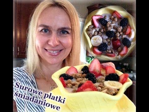 Surowe Płatki śniadaniowe  /zdrowe śniadanie/  Kierunek Zdrowie