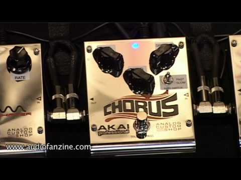 Akai Pedals Video Demo [NAMM 2011]