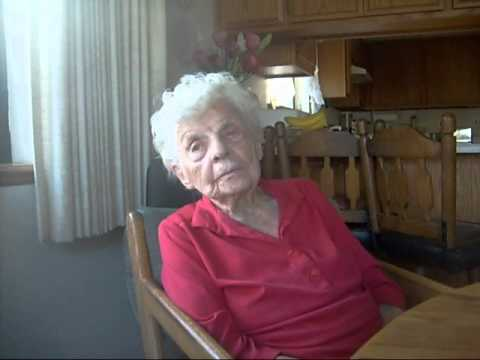 102 year old woman talk about her diet and life.