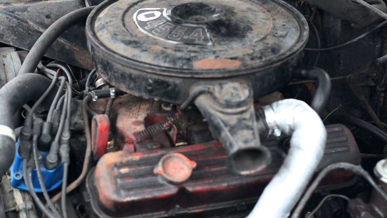 1970 Buick 455 Engine 370 Hp 10 5 1 Comp Engine With