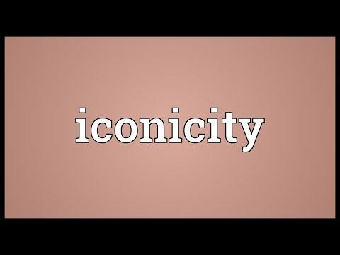 Header of iconicity