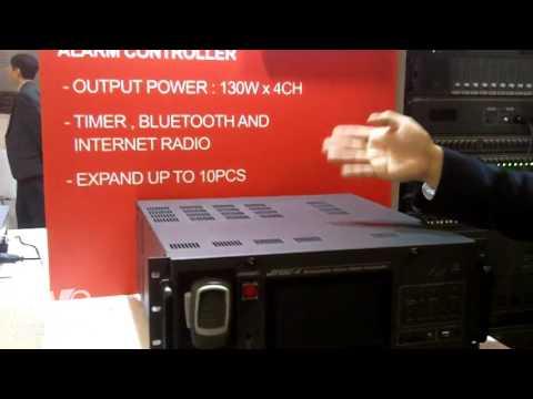 ISE 2017: JD-MEDIA Presents LA 2000 Loop Amplifier and JVAC-4 Alarm Controller