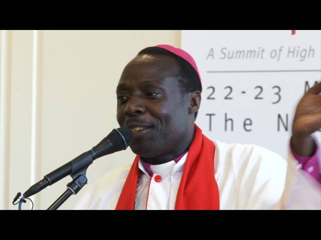 Bishop Okombo at Summit of Religious Leaders on the response to HIV - Part 1