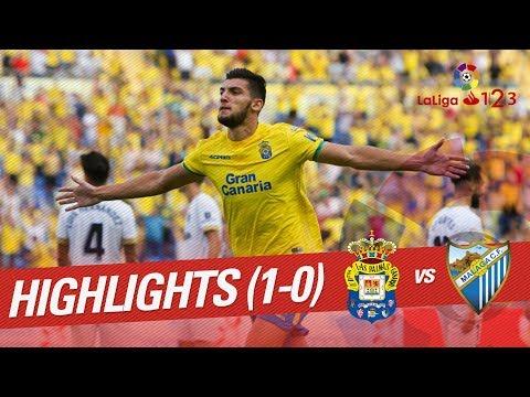 Resumen de UD Las Palmas vs Málaga CF (1-0)