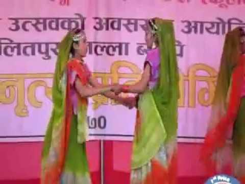 maithili dance sama chakewa future stars academy school lubhu 2070-10-6 gautam nakarmi