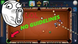 8 Ball Pool Can You Believe This No Guideline Fail in  Rome With Solar System Cue ( What a Fail?? )