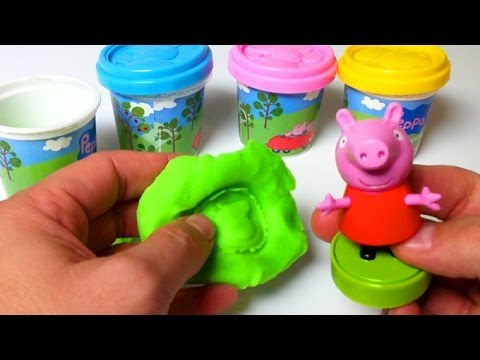 Play Doh Peppa Pig Playset Playdough By Unboxingsurpriseegg video