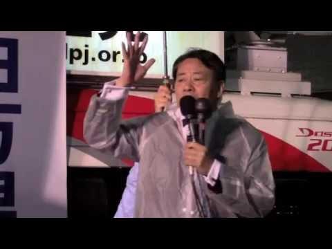 【東京10区】海江田代表、日々働いている人のための政治の実現誓う JR大塚駅前