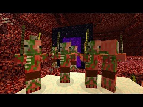 10 Fakten über Minecraft Zombie Pigmen! (Einsteigerfreundlich)