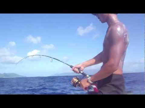 Raiatea jigging (dogtooth tuna)