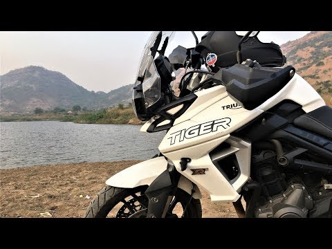 Triumph Tiger XRX 800 Test Ride | Lavasa