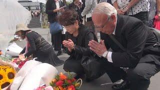 NZ地震七回忌、追悼式