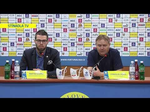 Tisková konference domácího trenéra po utkání Teplice - Zlín (7.12.2019)