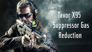 IWI US Expert's Corner: Tavor X95 Suppressor Gas Reduction