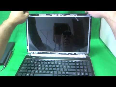 HP dv6-6000 Laptop Screen Replacement Procedure