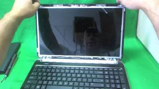 HP dv6-6000 Laptop Screen Replacement Procedure