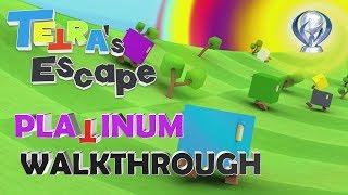 Tetra's Escape 100% Full Platinum Walkthrough | 1 hour Platinum | Trophy & Achievement Guide