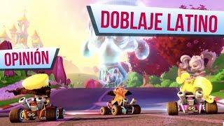 OPINIÓN DEL OPENNING DOBLADO LATINO  - Crash Team Racing Nitro Fueled
