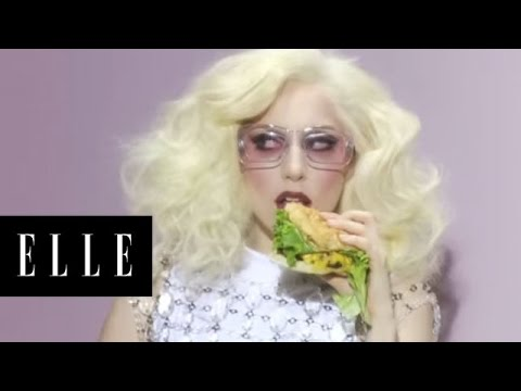 Watch the behind-the-scenes video of Lady Gaga's cover shoot for the January Issue of ELLE magazine. View the photos: www.elle.com.
