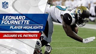 Every Leonard Fournette Run vs. New England | Jags vs. Pats | Preseason Wk 1 Player Highlights