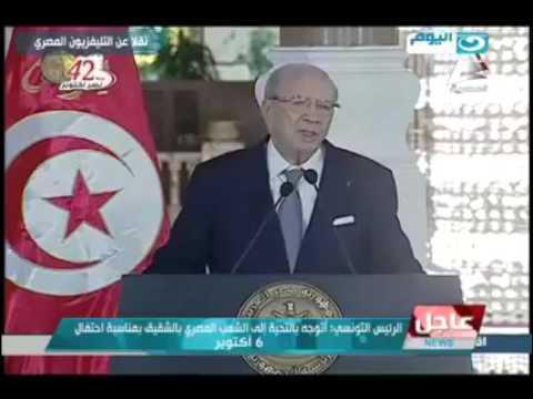 Béji Caïd Essebsi, a déclaré, dans une conférence de presse conjointe avec son homologue égyptien