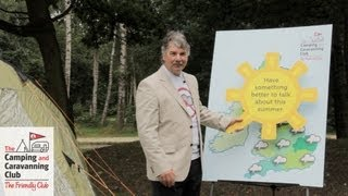 Don't mention the Weather with John Kettley - The Camping and Caravanning Club