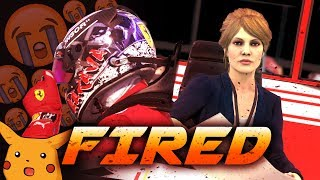 I GOT FIRED BY FERRARI?!.....SEASON FINALE! - F1 2018 Career Mode Part 105