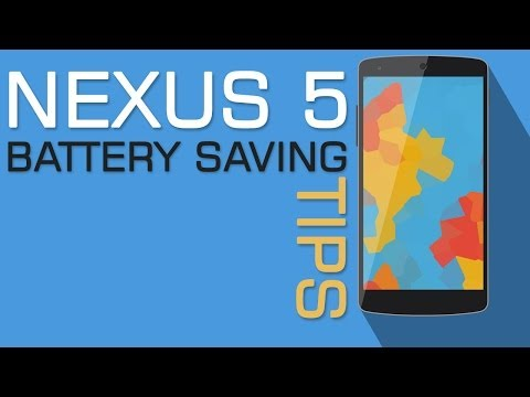 Nexus 5 Top 10 Battery Saving Tips