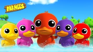 Five Little Ducks & More Kids Nursery Rhymes   Songs For Children