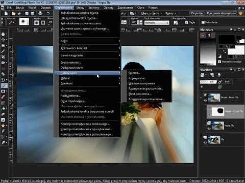 Kurs Corel Corel PhotoPaint  X3 - Dynamiczny Zoom | market-wiedzy.pl
