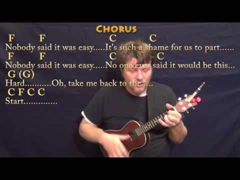 The Scientist (Coldplay) Ukulele Cover Lesson in Am with Chords/Lyrics
