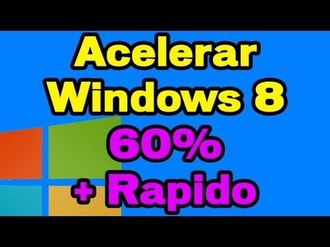 Acelerar. Optimizar. Limpiar. Mantenimiento Windows 8