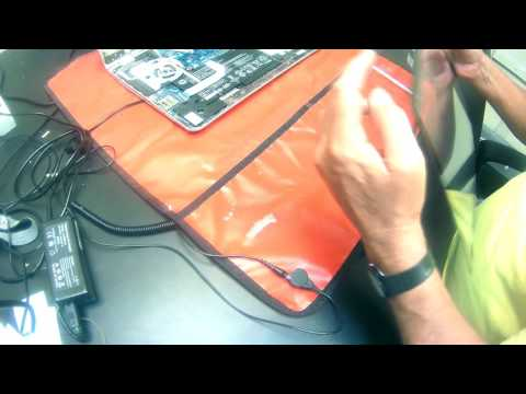HP Envy M6-w Touch Digitizer and LCD Screen Replacement Procedure