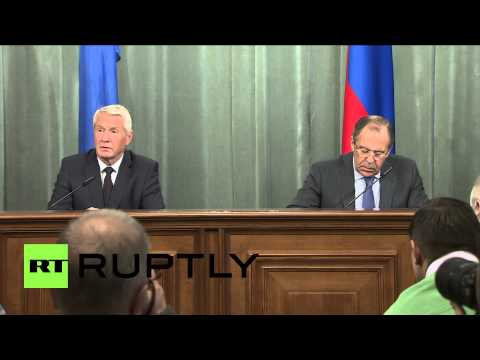 "Russia: ""Minsk agreements key to ending Ukraine crisis,"" agree Lavrov and Jagland"
