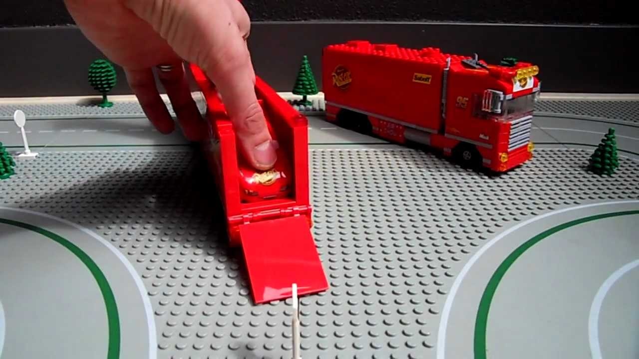 Lego Truck Custom V8 Extra Long Lzv With Lego 8486 Cars
