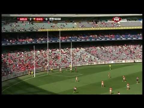 Round 4 AFL - Melbourne v Greater Western Sydney Highlights