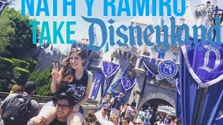 NATH Y RAMIRO TAKE DISNEYLAND.