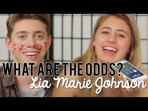Lia Marie Johnson and Jonah Green- What are the Odds Challenge!