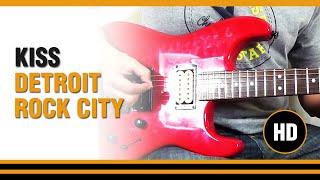 Como tocar Detroit Rock city de KISS en Guitarra electrica CLASE TUTORIAL