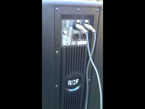 RCF ART 902-AS problème de vibration
