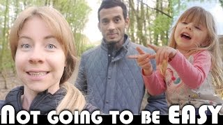 IT'S NOT GOING TO BE EASY! - FAMILY VLOGGERS DAILY VLOG
