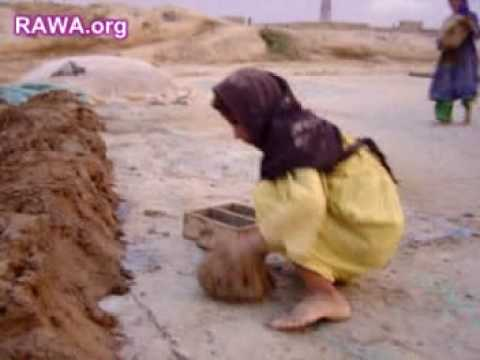 Thousands of Afghan children work in brick-making factories