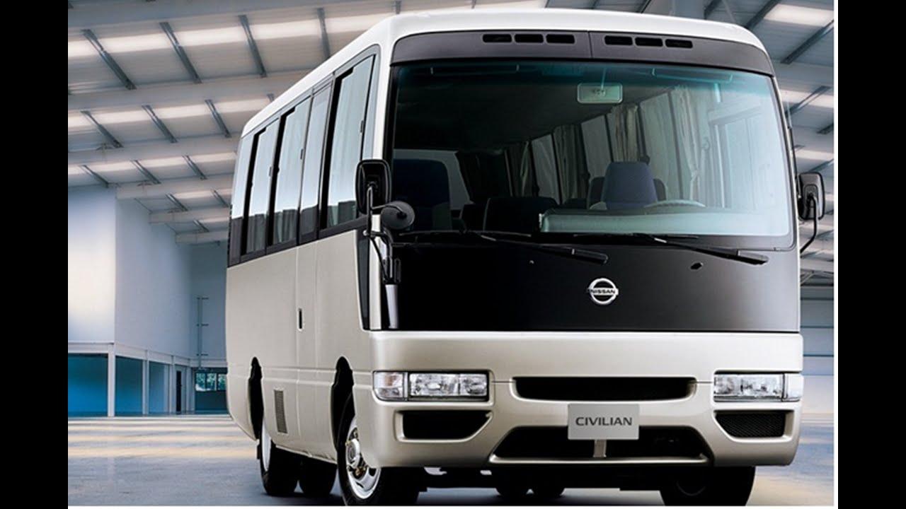 Nissan Civilian Bus at Nissan 360 - YouTube