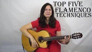 Top five Flamenco guitar techniques ✔