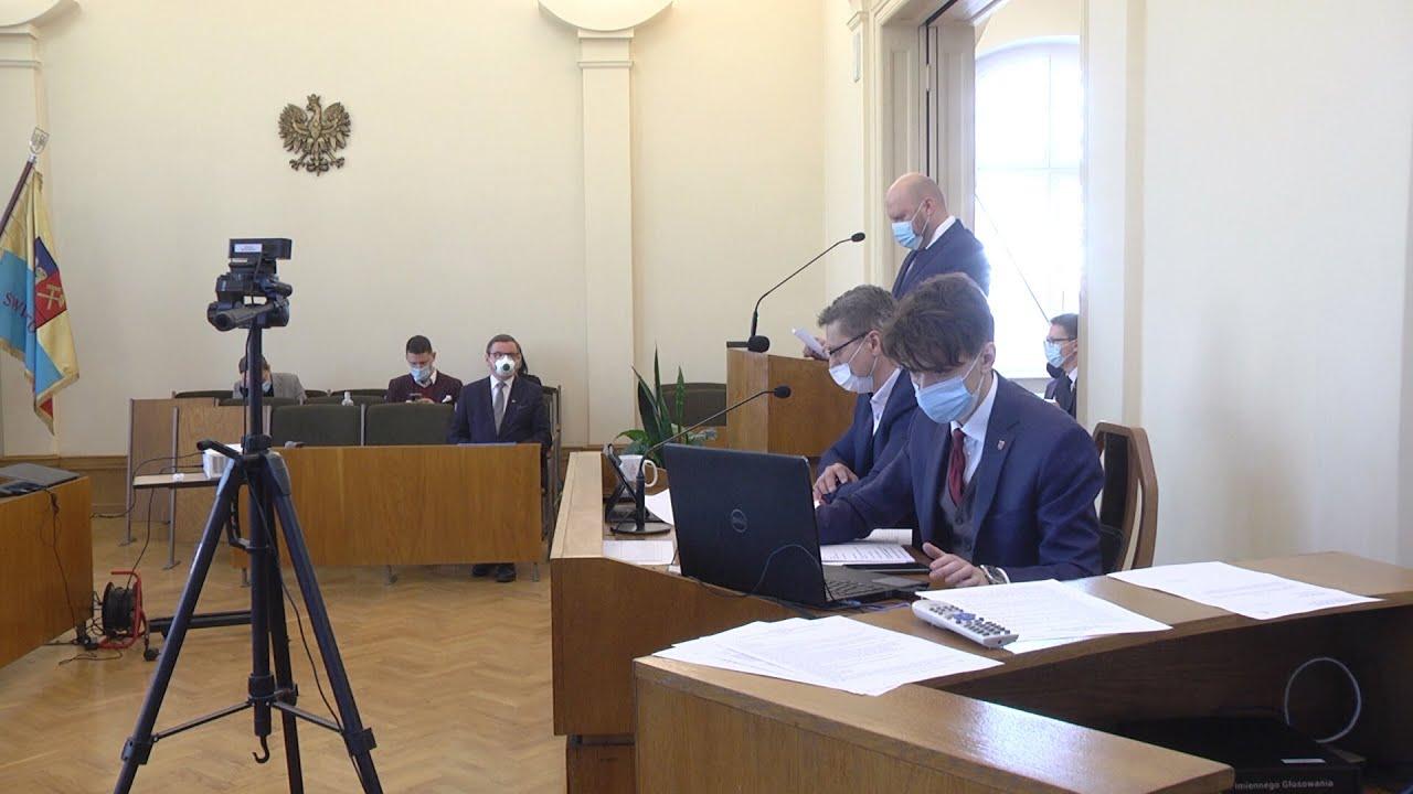 XXXVIII sesja Rady Miejskiej, część I