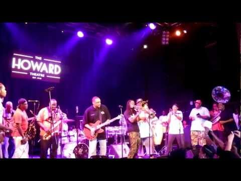 Rare Essence&The Soul Rebels - Chuck Brown Tribute - Hoochie Coochie Man