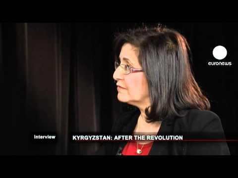 euronews interview - Il presidente del Kyrghyzstan Roza Otunbayeva: