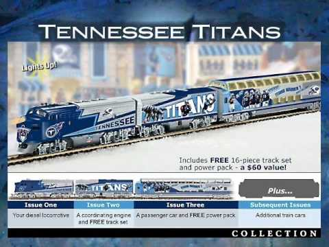 NFL Electric Trains Video