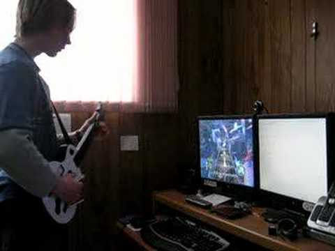 How to play Frets on Fire or GH3 pc with a PS3 wireless controller